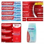החל מ 6.4$ (משלוח חינם בהגעה לסכום כולל של 49$ ומעלה) למגוון מוצרי Colgate האיכותיים – הלבנת שיניים, משחות שיניים, מי פה ועוד!!
