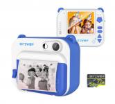 """רק 49.99$\160 ש""""ח למצלמת הפיתוח המיידי שהפכה ללהיט לילדים מבית בליצוולף BlitzWolf® BW-DP1 + כרטיס זכרון במתנה!!"""