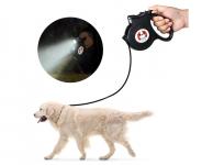 רק 8.99$ עם הקופון BGJATD709 לרצועת טלסקופית באורך 5 מטר עם פנס לד לכלב מבית דיגו DIGOO DG-PL901!!