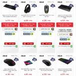 דיל מקומי: חגיגת גיימינג ב KSP!! מגוון מקלדות, עכברים, אוזניות ומשטחים לעכבר של חברת Asus ב 15% הנחה לזמן מוגבל!!