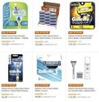 חגיגת סכיני גילוח מבית ג'ילט Gillette באמזון (כולל משלוח חינם בהגעה לסכום כולל של 49$ ומעלה)!!