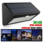 רק 12.99$ עם הקופון BGISXP051 מנורה סולרית הכוללת חיישן תנועה!!