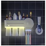רק 31.99$ עם הקופון BGISYL121 למדף ארגונית למקלחת הכולל גם סטרליזציה, תאורת לילה ומוציא משחת שיניים להגיינה מקסימלית!!.