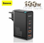 רק 44.9$ למטען העוצמתי המהיר מבית באסאוס המטעין גם לפטופים Baseus GaN2 Pro 100W + כבל איכותי תואם!!