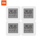 רק 13.44$ ל 4 יחידות של התרמומטר החכם מבית שיאומי XIAOMI Mijia Bluetooth Thermometer 2!!