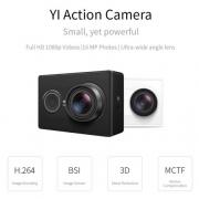 """רק 42$\150 ש""""ח למצלמת האקשן המעולה של שיאומיYI Action Camera בגרסה הבינלאומית!! בארץ המחיר שלה 560 ש""""ח!!"""