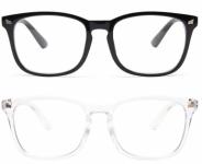 יושבים שעות על המחשב? שורפות לכם העיניים? מרגישים עייפות? משקפי האנטי אור כחול הכי פופולרים ומומלצים באמזון מבית Livho באים לעזרתכם ועכשיו ב 15.28$ בלבד ל 2 זוגות משקפיים (משלוח חינם בהגעה לסכום כולל של 49$ ומעלה)!!