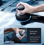 רק 13.99$ למכשיר פוליש + ווקס ידני לתיקון שריטות והחייאת הצבע ברכב מבית חברת בסאוס Baseus המעולה!!