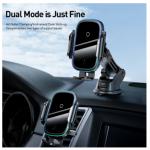 רק 28$ למחזיק הטלפון לרכב הכולל טעינה אלחוטית הנהדר מבית באסאוס Baseus 15W QI Wireless Charger!!