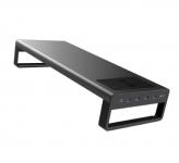 רק 64.99$ עם הקופון BGVD649 למעמד למסך המחשב עם חיבורי USB ומשטח טעינה אלחוטית שיעשה לכם סדר בשולחן העבודה!!