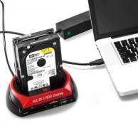 עוד מוצר חדש, מגניב ושימושי ביותר, רק 22.99$ לתחנת עגינה של אביזרי אחסון – כוננן קשיח, כרטיסי זכרון וכו'!!