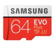 רק 14.5$ לכרטיס הזכרון המעולה Samsung EVO PLUS 64GB MicroSDXC!!