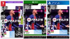 """רק 33$\115 ש""""ח מחיר סופי כולל הכל עד דלת הבית ל FIFA 21 לקונסולות XBOX, PS4, PS5, Nintendo switch!!"""