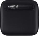 """רק 98$\315 ש""""ח מחיר סופי כולל הכל עד דלת הבית לכונן SSD חיצוני נייד Crucial X6 בנפח 1TB!!"""