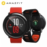 """רק 59.49$\204 ש""""ח עם הקופון HAPPYPACE לשעון החכם המעולה של שיאומי Xiaomi Huami Watch AMAZFIT Pace!! בארץ המחיר שלו 600 ש""""ח!!"""