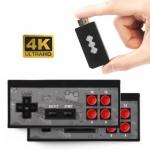 """רק 19.77$\67 ש""""ח לקונסולה רטרו בחיבור HDMI עם 2 שלטים אלחוטיים ו 568 משחקים קלאסים מובנים!!"""