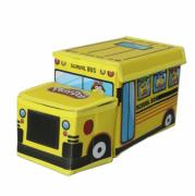 רק 6.99$ לשתי קופסאות אחסון לצעצועים Hasbro Play-Doh מקורי בצורת אוטובוס בית ספר!!