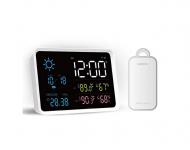 רק 25.99$ עם הקופון BGOCFO035 לשעון המעורר + תחנת מזג האוויר החכמה החדשה לבית ולחוץ מבית שיאומי!!