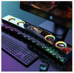 רק 57.99$ עם הקופון BGCNCZFSY39 לסאונד בר מעוצב נייד למחשב עם תאורה, שעון, בלוטוס ועוד – SOAIY SH39!!