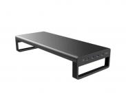 רק 48.99$ עם הקופון BGIL277 למעמד למסך המחשב עם חיבורי USB שיעשה לכם סדר בשולחן העבודה!!