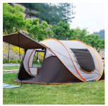 רק 55$ עם הקופון BGTY823SL לאוהל פתיחה מהירה ל 3-4 אנשים IPRee PopUp Tent!!