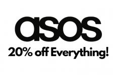 אסוס סייל!! ל 24 שעות בלבד – קופון 20% אקסטרה הנחה על הכל ב ASOS!!