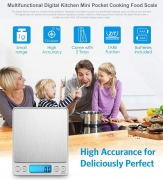 רק 6.99$ למשקל מטבח דיגיטלי כולל כמה אפשרויות חכמות!!