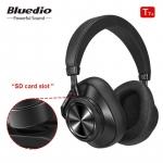 רק 41.99$ לאוזניות האלחוטיות הנהדרות מבית בלודיו בעלות סינון רעשים אקטיבי Bluedio T7 Plus!!