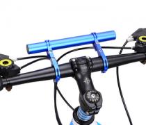 הארכה לכידון אופניים – להתקנת פנסים / מחשב דרך / ניווט ועוד – קל להתקנה ולשימוש – ב- 7.99$ !