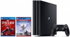 """רק 1560 ש""""ח מחיר סופי כולל הכל עד דלת הבית לבאנדל של PlayStation 4 Pro 1TB + שני משחקים!"""