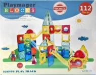 """דיל מקומי: רק 109 ש""""ח ללהיט הילדים – לונה פארק 112 חלקים Playmager!!"""
