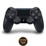"""דיל מקומי: רק 170 ש""""ח לבקר משחק אלחוטי דור שני Sony PlayStation 4 DualShock 4 V2 – צבע שחור – אחריות יבואן רשמי על ידי ישפאר!!"""