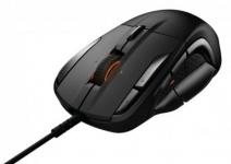 """דיל מקומי: רק 293 ש""""ח לעכבר לגיימרים SteelSeries Rival 500 MOBA/MMO – צבע שחור!!"""