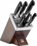 """דיל מקומי: רק 799 ש""""ח במקום 999 ש""""ח עם הקופון הבלעדי SmartBuyKSP לסט המדהים 7 כלים הכולל 5 סכינים, מספריים ומעמד משחיז לסכינים Zwilling!!"""