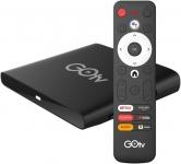 """דיל מקומי: רק 265 ש""""ח לסטרימר המושלם והמשתלם ביותר – התומך בסלקום tv, פרטנר tv, סטינג tv ועוד GOtv 4K Ultra HD Android TV!!"""