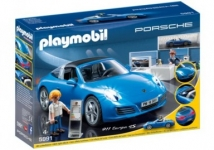 """דיל מקומי: רק 169 ש""""ח למכונית פורשה 911 מסדרת ספורט ומשחקי פעולה 5991 Playmobil!!"""