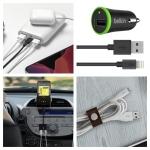 דיל מקומי: חגיגת כבלים ואביזרים לרכב מבית Belkin – הכל ב 20% הנחה!!