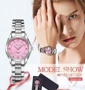 רק 5.64$ לשעון יד עמיד במים לאישה במגוון עיצובים לבחירה!!