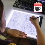 רק 9$ עם הקופון BGisju029 לטאבלט עם תאורת לד לציור\העתקה\שרטוטים וכו'!!