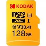 רק 18.9$ לכרטיס הזכרון המעולה Kodak High Speed U3 TF / Micro SD 128GB!!