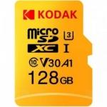 רק 16$ עם הקופון BGKH8Gf68r לכרטיס הזכרון המעולה Kodak High Speed U3 TF / Micro SD 128GB!! הקופון עובד גם על שאר הנפחים!!
