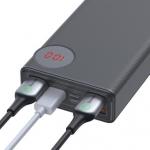 רק 37.49$ עם הקופון BGpower25 לסוללה הניידת העוצמתית החדשה מבית באסאוס Baseus 30000mAh המסוגלת להטעין גם לפטופ במבצע השקה!!