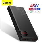 רק 29$ לסוללה הניידת העוצמתית והמהירה מבית באסאוס Baseus 20000mAh 45W התומכת בכל טכנלוגיות הטעינה המהירה!! רק 18$ לגרסת ה 18W!!