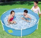 """דיל מקומי: רק 179 ש""""ח לבריכת שחייה לילדים עם מסגרת מתכת בגודל 152×38 ס""""מ Bestway!!"""