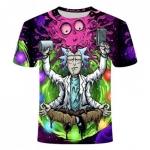רק 3.34$ לחולצות תלת מימד מגניבות של ריק ומורטי במגוון עיצובים ומידות לבחירה!!