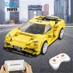 רק 12.54$ עם הקופון CADA728 למכונית לבנייה הכוללת שליטה מהשלט והאפליקציה Cada City!!